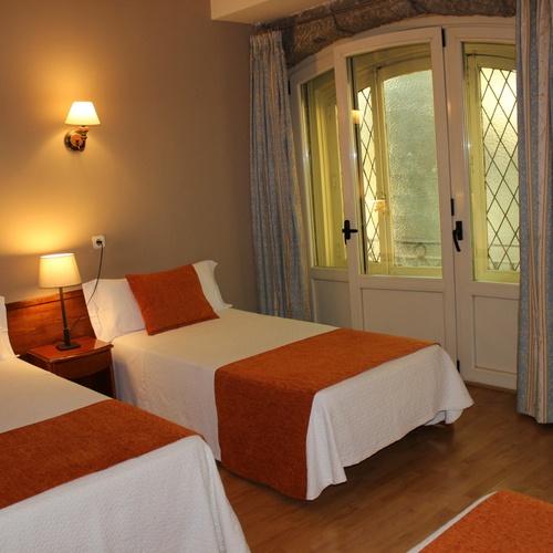 Quadruple room San Lorenzo Hostal