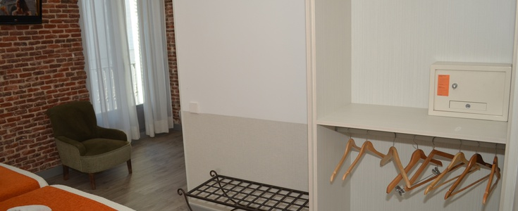 Room  adapted for people with reduced mobility san lorenzo hotel madrid