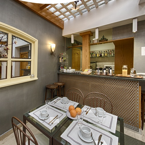 Dining room San Lorenzo Hostal