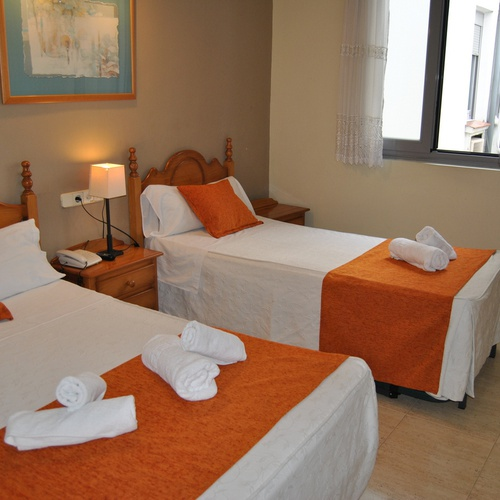 Triple room San Lorenzo Hostal Madrid