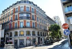Facade san lorenzo hotel madrid