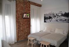 Habitación Doble Superior San Lorenzo Hostal Madrid